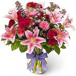 Mensagens de Aniversário Flowers